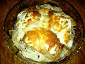 チキンのサワークリームオーブン焼き