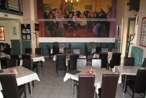 ハンガリー料理のレストランの雰囲気