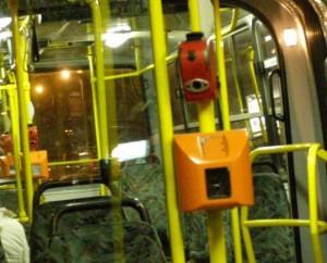 ブダペストのバス