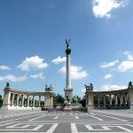 ハンガリーの歴史を感じられる英雄広場
