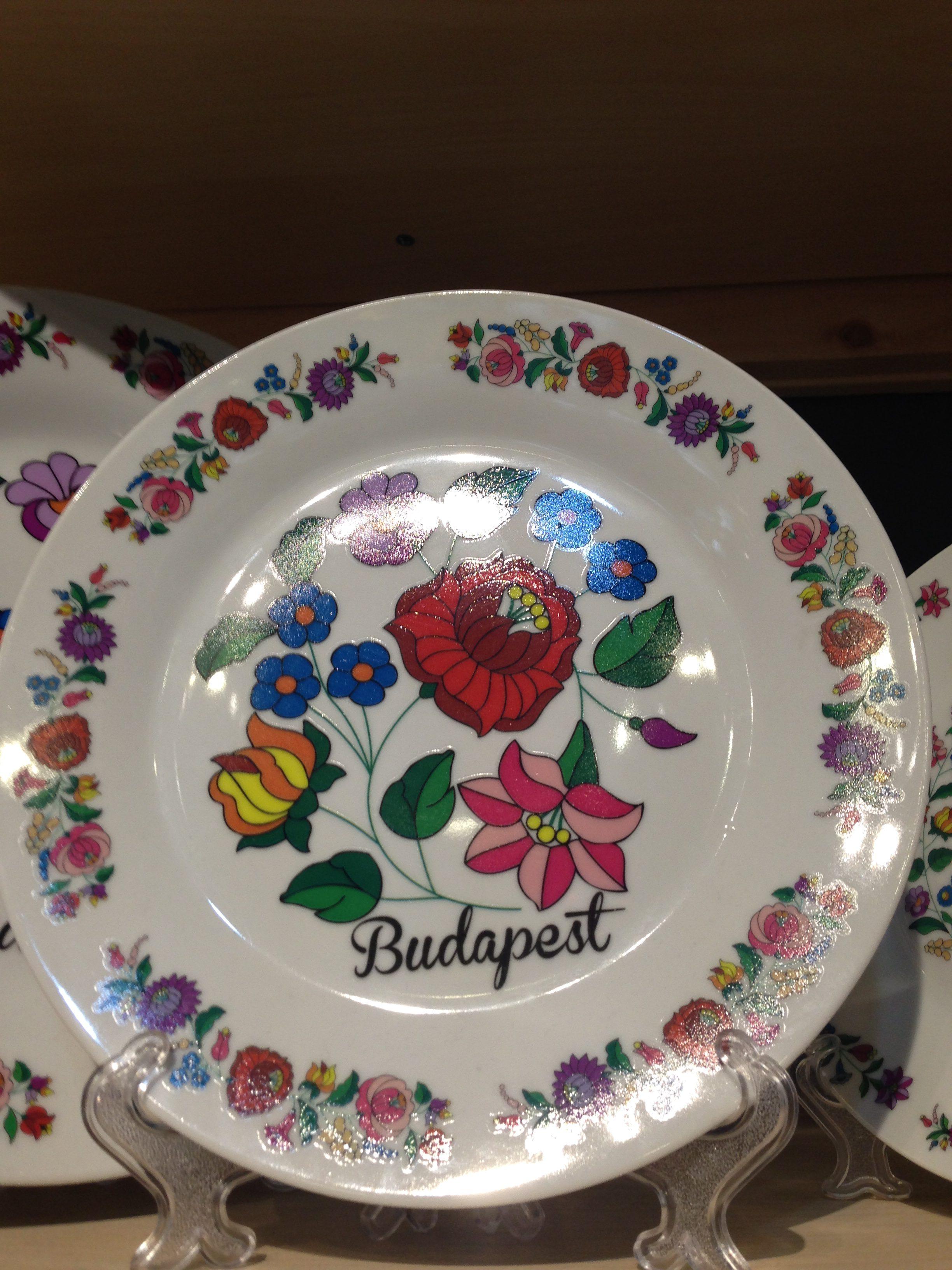 ハンガリー刺繍のお皿
